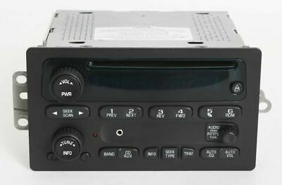 $225 • Buy 2003 Chevy Trailblazer EXT Truck Radio AMFM CD Player W Auxiliary Input 10357894