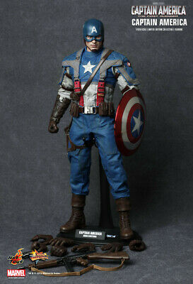 $ CDN438.08 • Buy Hot Toys Captain America: First Avenger MMS156 Mint In The Box