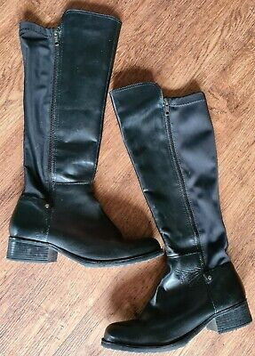Pavers Knee High Boots Size 5 • 7.99£