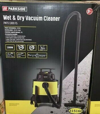 Parkside Wet & Dry Vacuum Cleaner PNTS 1300 F5 Brand New In Box • 52.49£