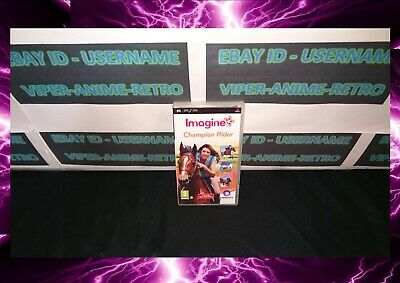 Sony Psp Game - Imagine Champion Rider - Boxed Complete • 9.99£