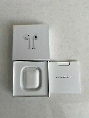 AU180 • Buy Genuine Apple AirPods 2nd Generation | Wireless Charging Case | White