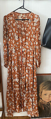 AU91 • Buy Spell And The Gypsy Gown Size Medium Long Sleeve Maxi Dress