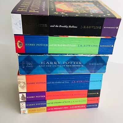 $ CDN73.51 • Buy Harry Potter Book Collection J.K.Rowling Books Set 1-7 Paperback