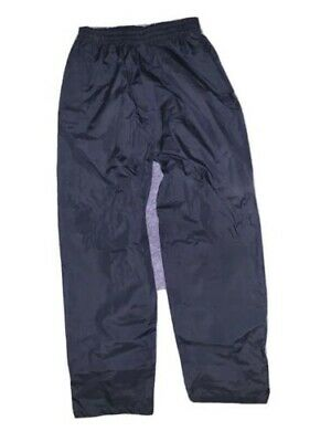 Peter Storm Unisex Navy Waterproof Trousers Kids Age 11-12 Years • 5£