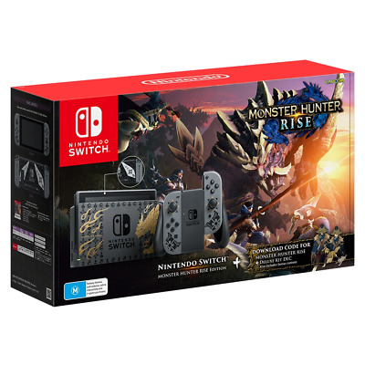 AU583.95 • Buy Nintendo Switch Monster Hunter Rise Edition Console NEW