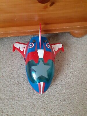 Captain America Aeroplane And Figure Marvel Imaginext • 8.99£