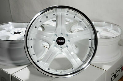 $474 • Buy 18  White Wheels Rims Acura Legend TC TL Accord Civic Miata Cooper Corolla Jetta