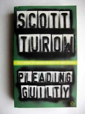 AU9.39 • Buy Pleading Guilty Third Book In The Kindle County Series  By Scott Turow