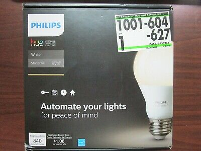 AU43 • Buy Philips HUE White Starter Kit 455287 BRAND NEW Open Box