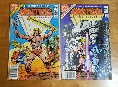 $26.99 • Buy DC Comics Masters Of The Universe Mini Series #1 & #2 Newsstand 1982