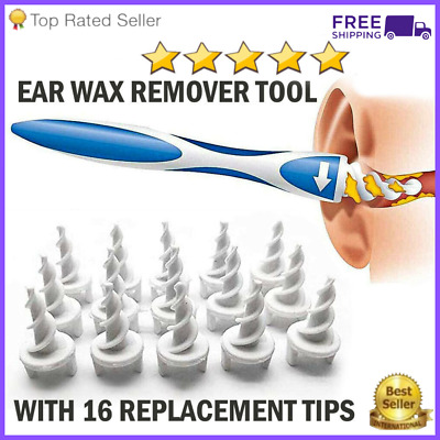 $ CDN10.78 • Buy Ear Wax Removal Tool Cleaning Ear Wax Cleaner Q-grips Ear Wax Remover 16 Tips