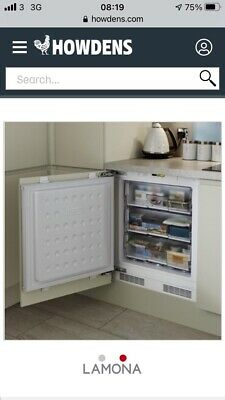 Integrated Built Under Counter Freezer White BRAND NEW!!! 3 Year Warranty • 246£
