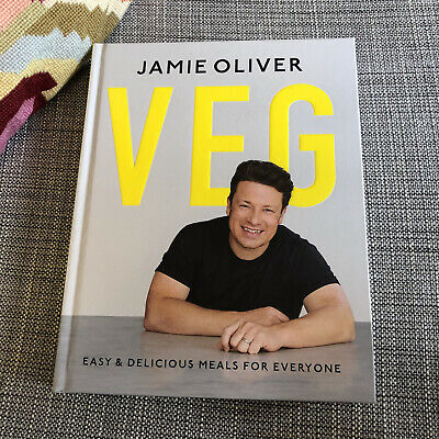 AU25 • Buy Veg: Easy & Delicious Meals For Everyone Cookbook By Jamie Oliver