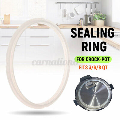 $ CDN9.76 • Buy For 3/6/8QT Sealing Ring Seal Gaskets Pot Silicone Replacement Crock-Pot