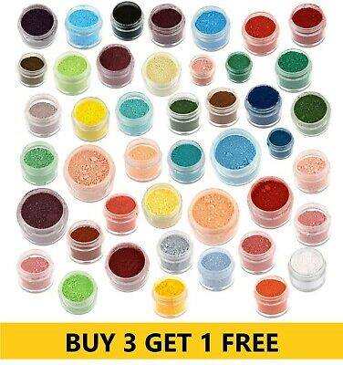 £4.69 • Buy Rainbow Dust Edible Cake Dusting Powder Silk Food Colouring For Cake Decorating