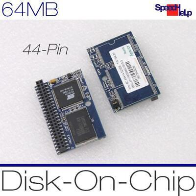 SSD Apacer 64MB Ide Flash Thinclient HP Igel Neiware Wyse 44PIN Pole Dom Disk • 2.68£