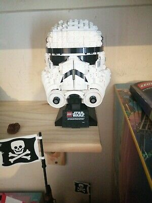 Lego - 75276 - Star Wars Stormtrooper Bust Helmet Advanced Building Set Used • 20£