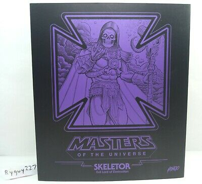 $495 • Buy Mondo Skeletor, Masters Of The Universe, 1/6 Scale, 12 Inch, Complete With Box
