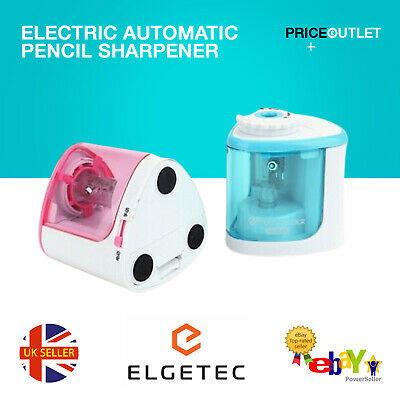 £8.99 • Buy Pencil Sharpener Electric Automatic Battery Operated School Stationery UK