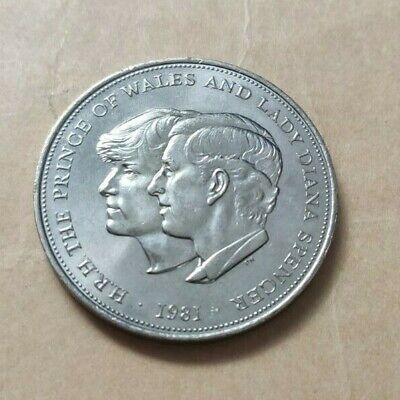 Coin PRINCE CHARLES AND LADY DIANA SPENCER WEDDING 1981 • 4.95£