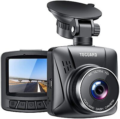 AU74.84 • Buy TOGUARD 4K Dash Cam For Cars With GPS