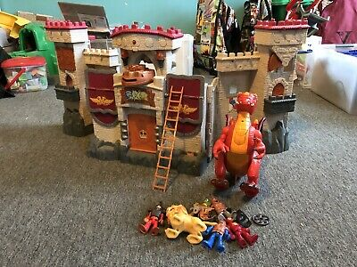 Imaginext Castle And Dragon • 2£