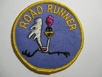 Road Runner  Patch NOS Vintage Original RARE  3 X 3 Inches • 10.75£