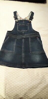 Mini Boden Dungaree Pinafore Dress - 3-4 Years - Great Condition • 3.99£