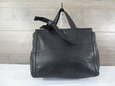 $ CDN13.29 • Buy Kate Spade Black Leather Satchel Handbag Tote Purse