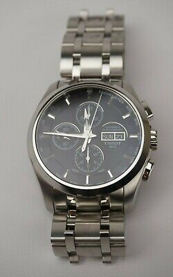 $ CDN785.34 • Buy Tissot Couturier Automatic Chronograph Men's Watch T0356141105101 Steel Band