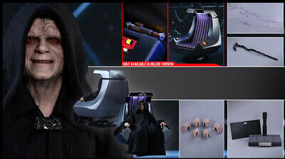 $ CDN375.50 • Buy Hot Toys MMS468 Star Wars Emperor Palpatine Deluxe Version (SEALED)