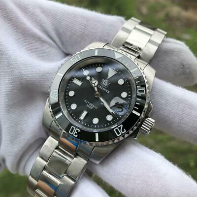 $ CDN174.56 • Buy Steeldive 1953 Diver Watch Automatic Men 41mm Black Dial Submariner Seiko Nh35