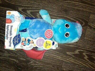 In The Night Garden Snuggly Singing Iggle Piggle Soft Toy, 29cm • 10£