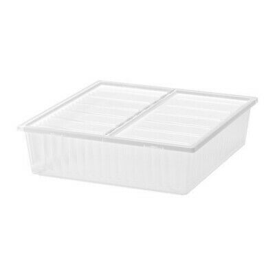 3 X IKEA Gimse Large Under Bed Storage Boxes/Containers • 7.75£