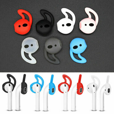 $ CDN4.34 • Buy Lots Silicone In-ear Headset Earbuds Cover With Hook Earphone For Apple Airpods