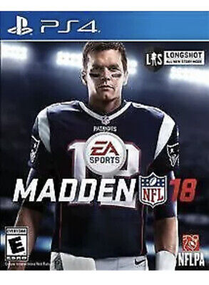 AU13.55 • Buy Madden NFL 18 Ps4 Playstation 4 Kids Football Game 2018 Sports