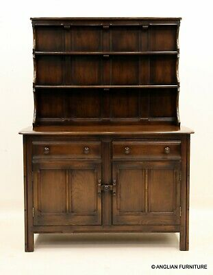 £367 • Buy Ercol Old Colonial Dresser With Drawers, Shelves And Cupboard FREE UK Delivery