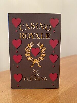 Ian Fleming CASINO ROYALE 1st Edition Library Facsimile 1953 JAMES BOND 007 • 156£