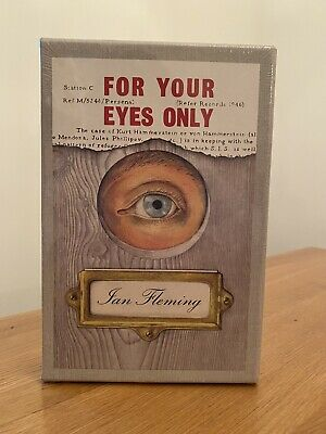 Ian Fleming FOR YOUR EYES ONLY 1st Edition Library Facsimile 1960 JAMES BOND 007 • 28£