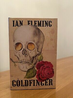 Ian Fleming GOLDFINGER 1st Edition Library Facsimile 1959 JAMES BOND 007 • 16£