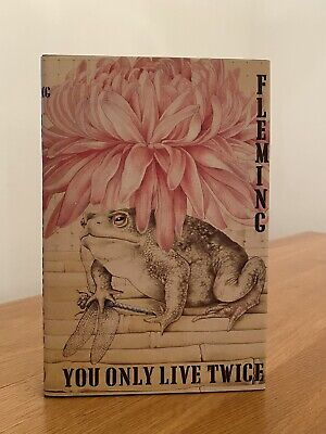 Ian Fleming YOU ONLY LIVE TWICE 1st Edition Library Facsimile 1964 JAMES BOND • 7.50£