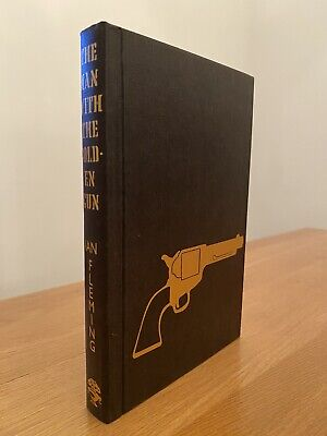 Ian Fleming THE MAN WITH THE GOLDEN GUN 1st Edition Library Facsimile 1965 • 32.99£