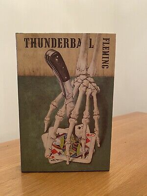 Ian Fleming THUNDERBALL 1st Edition Library Facsimile 1961 JAMES BOND 007 • 5.50£