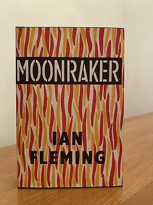 Ian Fleming MOONRAKER 1st Edition Library Facsimile 1955 JAMES BOND 007 • 11.50£