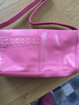 AU28.84 • Buy Radley New Pink Leather Bag Unwanted Gift