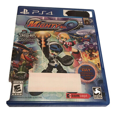 AU18.07 • Buy Mighty No. 9 Ps4 Playstation 4 Kids Game No DLC's