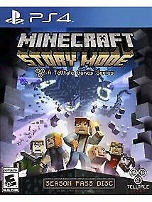 AU36.15 • Buy Minecraft: Story Mode PlayStation 4 PS4 Kids Game 2