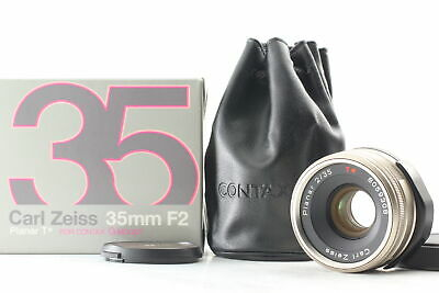 $ CDN750.81 • Buy [MINT BOX] Contax Carl Zeiss Planar T 35mm F/2 Lens For G1 G2 From JAPAN