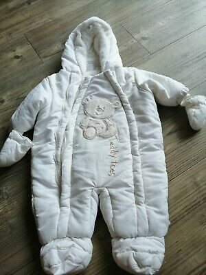 Baby All In One Pram Suit By Ladybird Size 0-3 Months • 1.50£